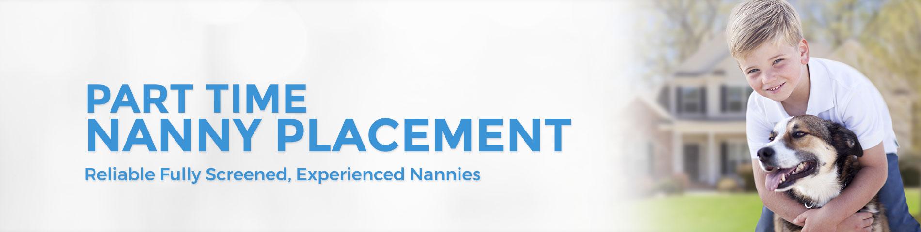 Part Time Nanny Placement